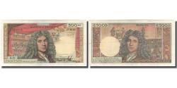 World Coins - France, 500 Nouveaux Francs, Molière, 1966-01-06, VF(30-35), Fayette:60.9