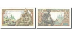 World Coins - France, 1000 Francs, Déesse Déméter, 1942, 1942-12-23, AU(55-58)