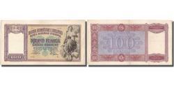 World Coins - Banknote, Albania, 100 Franga, Undated (1946), KM:14, EF(40-45)