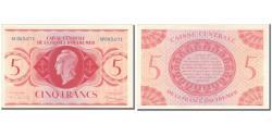 World Coins - French Equatorial Africa, 5 Francs, AU(50-53), KM:15b