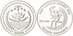 World Coins - BANGLADESH, Taka, 1997, KM #14, , Silver, 31.35