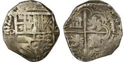 World Coins - Coin, Bolivia, Philip II, 4 Réales, Potosi, , Silver, KM:4.2