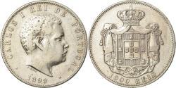World Coins - Coin, Portugal, Carlos I, 1000 Reis, 1899, , Silver, KM:540