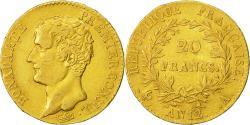 Ancient Coins - Coin, France, Napoléon I, 20 Francs, 1804, Paris, EF(40-45), Gold, KM:651