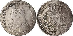 Ancient Coins - Coin, France, Louis XV, Écu aux branches d'olivier, Ecu, 1726, Nantes