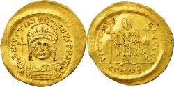 Ancient Coins - Coin, Justinian I, Solidus, 545-565, Constantinople, , Gold, Sear:140