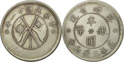 World Coins - Coin, China, YUNNAN PROVINCE, 50 Cents, 1932, , Silver, KM:492