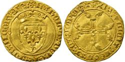 Ancient Coins - Coin, France, Charles VII, 1/2 ECU D'or, Paris, , Gold, Duplessy 513