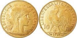 World Coins - Coin, France, Marianne, 10 Francs, 1910, Paris, , Gold, KM:846