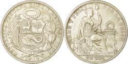 World Coins - Peru, Sol, 1924, Philadelphia, , Silver, KM:218.1