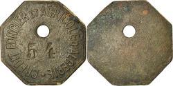 World Coins - Algeria, Token, Crédit Foncier et Agricole d'Algérie, , Bronze