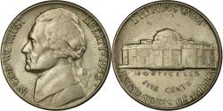 Us Coins - Coin, United States, Jefferson Nickel, 5 Cents, 1952, U.S. Mint, Philadelphia