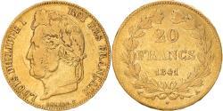 World Coins - Coin, France, Louis-Philippe, 20 Francs, 1841, Paris, , Gold, KM:750.1