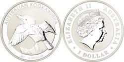 World Coins - Coin, Australia, Australian Kookaburra, 1 Dollar, 2011, , Silver