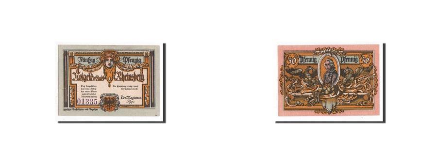 World Coins - Germany, Rheinsberg, 50 Pfennig, personnage, Undated, UNC(65-70), Mehl:1120.1