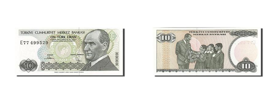 World Coins - Turkey, 10 Lira, 1979, KM:192, 1979, UNC(63)