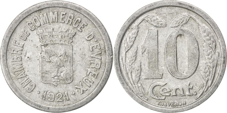 World Coins - France, 10 Centimes, 1921, , Aluminium, Elie #10.2, 1.43