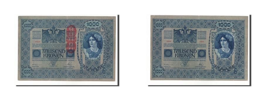 World Coins - Austria, 1000 Kronen, 1919, KM:57a, 1902-01-02, EF(40-45)