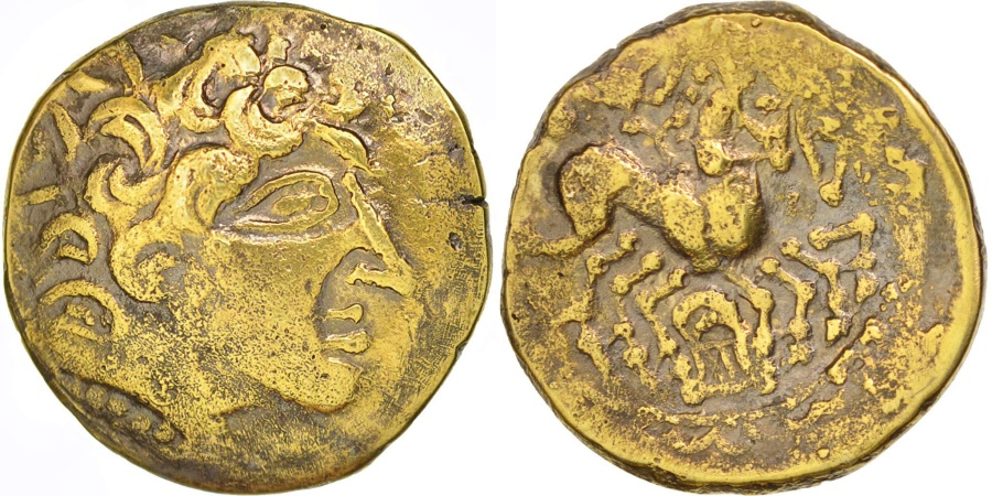 Ancient Coins - Carnutes, Stater à la lyre, , Electrum, Delestré:2531