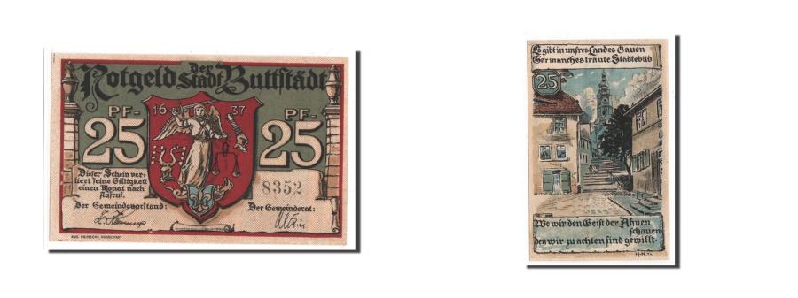 World Coins - Germany, Buttstadt Stadt, 25 Pfennig, UNC(65-70), 8352, Mehl #211.1a