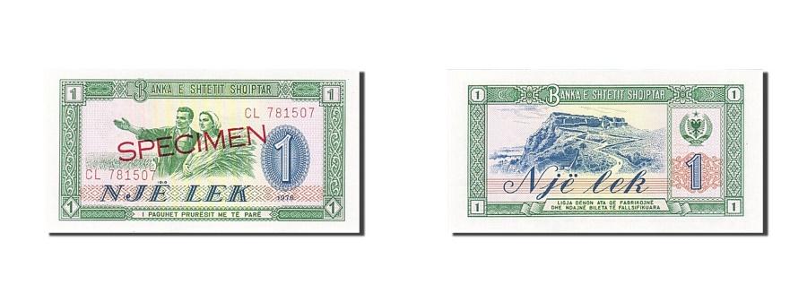 50 Lek Albania 1976 SPECIMEN UNC