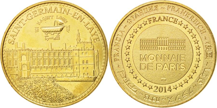 World Coins - France, Tourist Token, 78/ Saint-Germain-en-Laye, 2014, Monnaie de Paris