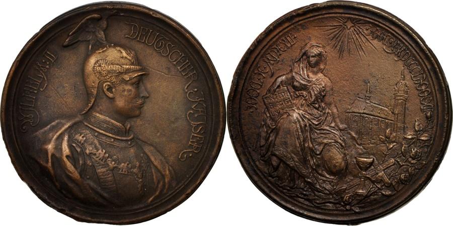 World Coins - Germany, Medal, Kaiser Wilhelm II, History, XIXth Century, , Copper