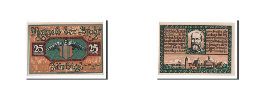 World Coins - Germany, Zörbig, 25 Pfennig, portrait 2, Undated, UNC(65-70), Mehl:1475.3