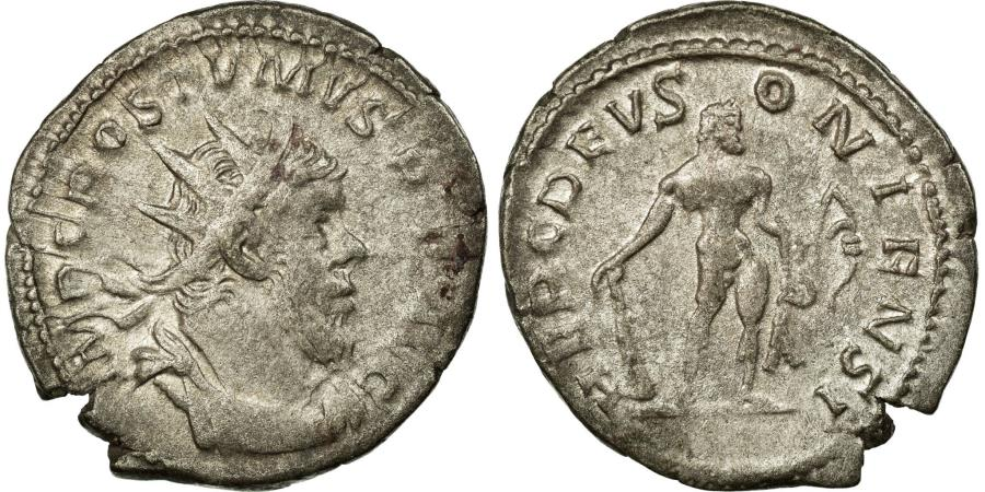 Ancient Coins - Coin, Postumus, Antoninianus, 260-269, Trier or Cologne, EF(40-45), Billon