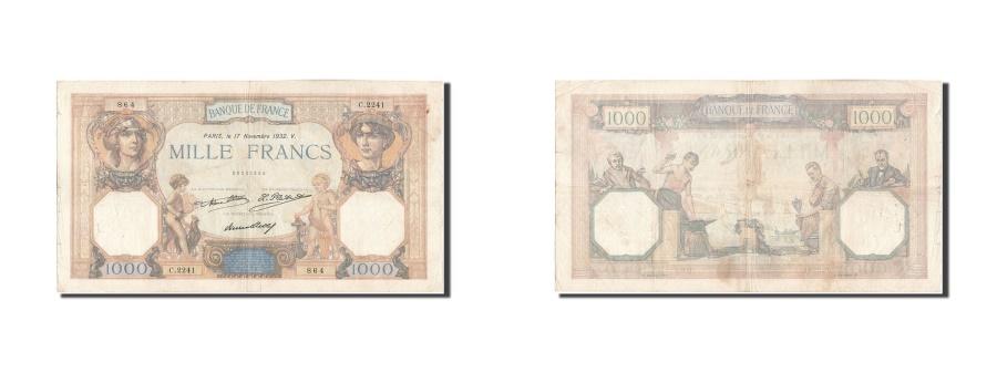 World Coins - France, 1000 Francs, 1 000 F 1927-1940 ''Cérès et Mercure'', 1932, KM:79b,...