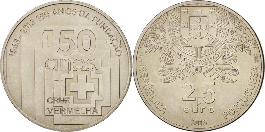 World Coins - Portugal, 2-1/2 Euro, 2013, , Copper-nickel