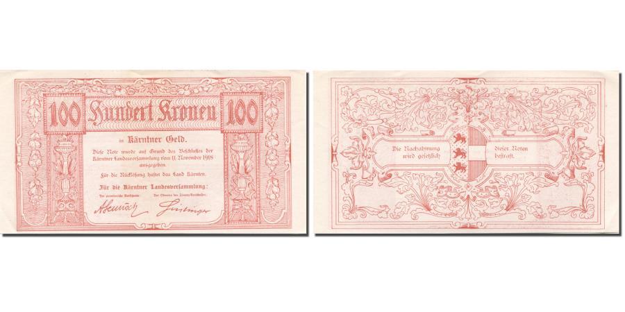 World Coins - Banknote, AUSTRIAN STATES, 100 Kronen, 1918, 1918-11-11, KM:S105b, UNC(63)