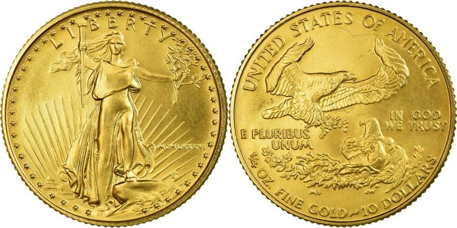 US Coins - Coin, United States, $10, 1986, U.S. Mint, Philadelphia, , Gold, KM:217