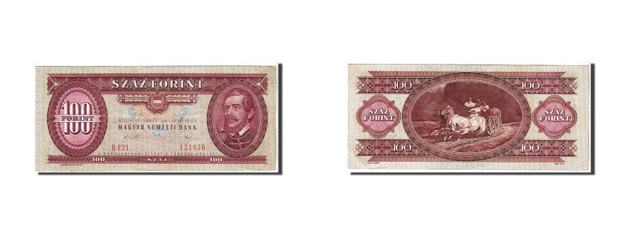 World Coins - Hungary, 100 Forint, 1989, KM #171h, EF(40-45), B021121836
