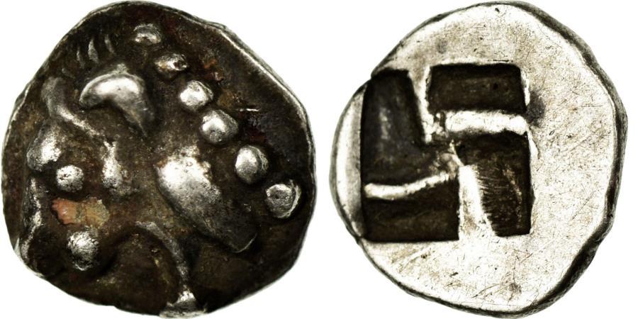 Ancient Coins - Coin, Massalia, Hémiobole à la tête de Lion, , Silver, Latour:303