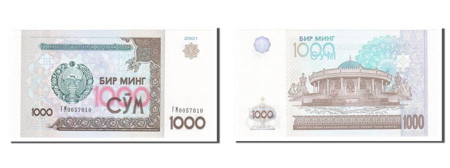 World Coins - Uzbekistan, 1000 Sum, 2001, KM #82, UNC(65-70), FM0057010