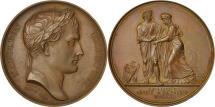 World Coins - France, Medal, Napoleon Ier , La Ligurie réunie à la France, 1805, Andrieu