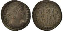 Constantius II, Nummus, 337-341, Siscia, AU(55-58), Copper, RIC:VIII 91