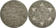 Morocco, 'Abd al-Aziz, 1/4 Rial, 2-1/2 Dirhams, 1903, Berlin, EF(40-45), Silver