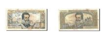 World Coins - France, 5000 Francs, 5 000 F 1957-1958 ''Henri IV'', 1958, KM:135a, 1958-03-0...
