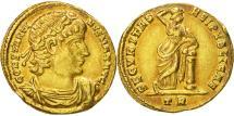 Ancient Coins - Constantine I, Solidus, Trier, AU(50-53), Gold, RIC:577