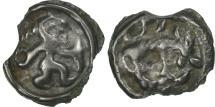 Ancient Coins - Remi, Potin au guerrier courant et à l'élan, VF(30-35), Potin, Delestrée:154