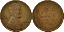 Us Coins - United States, Lincoln Cent, Cent, 1940, U.S. Mint, Philadelphia, EF(40-45)