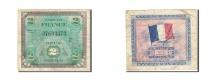 France, 2 Francs, 1944, KM:114a, 1944, F(12-15), Fayette:VF16.2