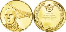 World Coins - France, Medal, L'Histoire de la Conquête de l'Air, Premier vol du Concorde