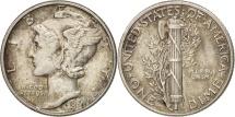United States, Mercury Dime, Dime, 1941, U.S. Mint, Philadelphia, AU(55-58)