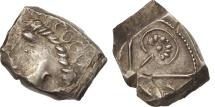 Ancient Coins - Ruteni, Drachm, AU(55-58), Silver, Savès:531*