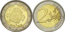 Finland, 2 Euro, 10 years euro, 2012, MS(63), Bi-Metallic