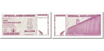 Zimbabwe, 5 Billion Dollars, 2008, KM:61, 2008-05-15, UNC(65-70)