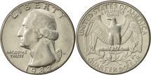 Us Coins - United States, Washington Quarter, Quarter, 1982, U.S. Mint, Denver, AU(50-53)